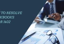 How To Resolve QuickBooks error 1402