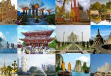 10 Top Tourist Destinations in Asia