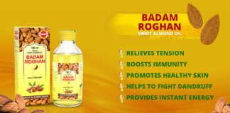Herbal Badam Roghan oil